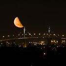 Half moon over WestGate 09 by robertb