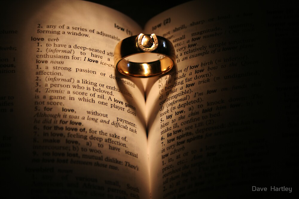 Wedding Rings by Dave  Hartley