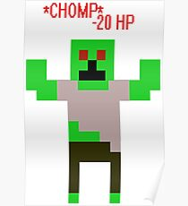 *CHOMP* A Zombie! Poster