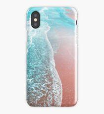 Sea Blue and Rose Gold iPhone Case/Skin