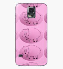 Pig - Cochon - Martin Boisvert Case/Skin for Samsung Galaxy