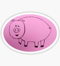 Pig - Cochon - Martin Boisvert Sticker