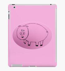 Pig - Cochon - Martin Boisvert iPad Case/Skin