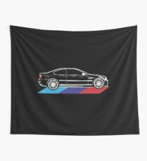 Car 3 Series E46 Wall Tapestry