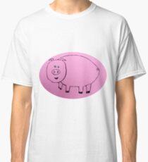 Pig - Cochon - Martin Boisvert T-shirt classique