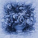 'Still Life' from the Blue Series by WazobirdStudio