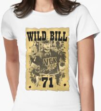 Wild Bill! Women's Fitted T-Shirt