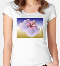 Hibiscus Colours Women's Fitted Scoop T-Shirt