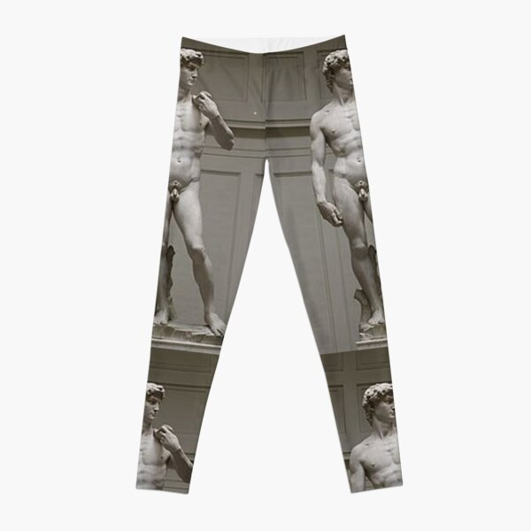 David by Michelangelo #David #Michelangelo #DavidbyMichelangelo #masterpiece Renaissance sculpture Leggings