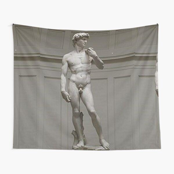 David by Michelangelo #David #Michelangelo #DavidbyMichelangelo #masterpiece Renaissance sculpture Tapestry