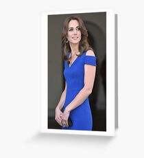 Gorgeous Kate Middleton Greeting Card