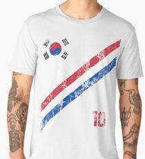 South Korea World Cup Soccer Short-Sleeve T-Shirt Football Korean Style Shirt Seoul Flag BTS Tae Kwon Do KPOP K-POP Men's Premium T-Shirt