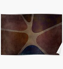 Sixties or Seventies Decoration Background Poster