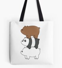 Bearstack Graphic Icon Tote Bag