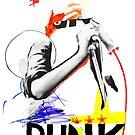 « punk » par sandrinepagnoux