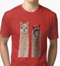 Pair of alpacas Tri-blend T-Shirt