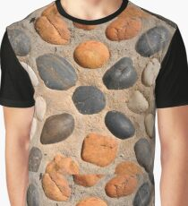 Old stone background,colorful retro background Graphic T-Shirt