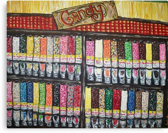 """""""Skewed Candy Store"""" by Adela bellflower"""
