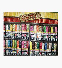 """Skewed Candy Store"" Photographic Print"