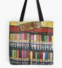 """""""Skewed Candy Store"""" Tote Bag"""