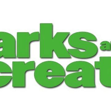 parques y logotipo de rec de pepperh24