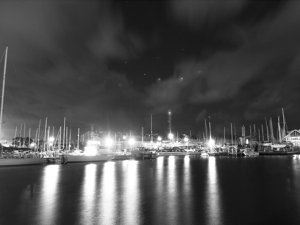 Midnight sky. by Tom Hogg
