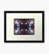 Space Mandala 10 Framed Print