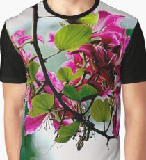 The Violet Flower Graphic T-Shirt