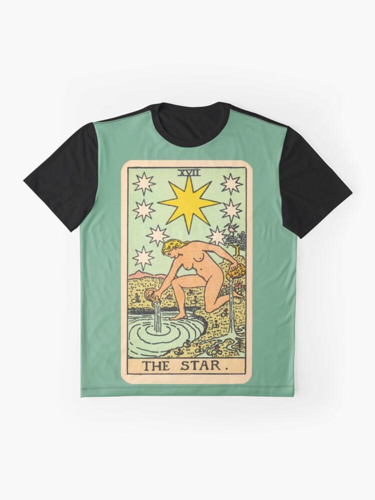 Alternative Ansicht von Tarot - Der Stern Grafik T-Shirt