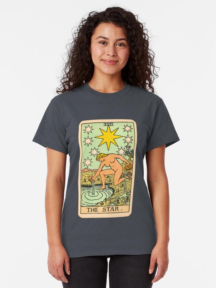 Alternative Ansicht von Tarot - Der Stern Classic T-Shirt