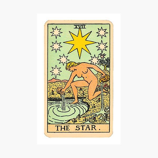 Tarot - The star Photographic Print