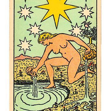 Tarot - The star by ghjura