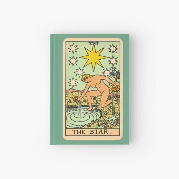 Tarot - The star Hardcover Journal