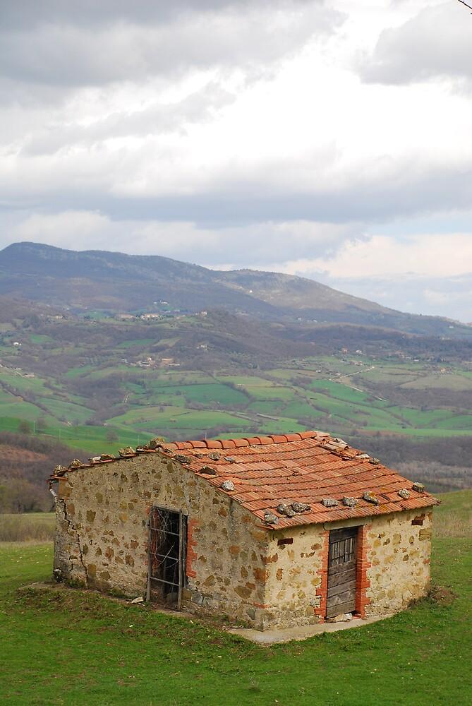 Hut in Tuscany  by jojobob