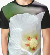 The White Flower Graphic T-Shirt