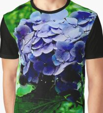 The Purple Flower Graphic T-Shirt