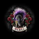 Rebel Unicorn by UrbanFaun
