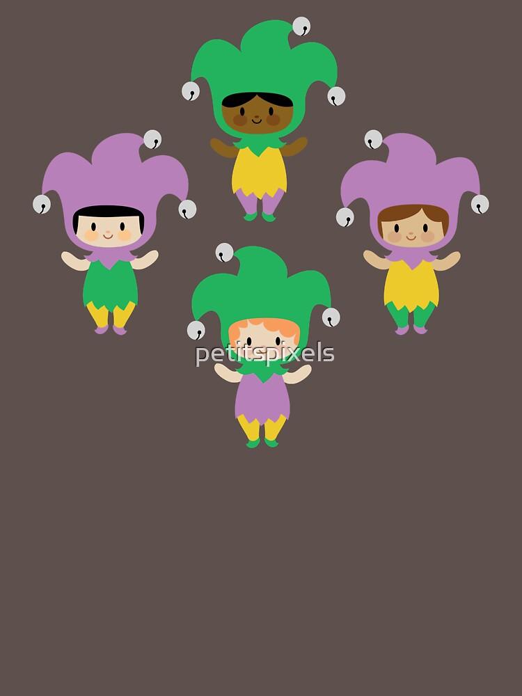 Kawaii jesters by petitspixels