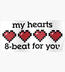 My Hearts 8-beat For You Poster