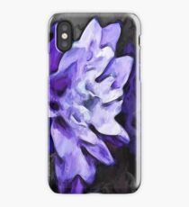Purple Flower and Reflection iPhone Case/Skin