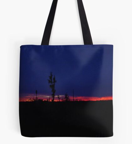 Sunset with a Stripe Tote Bag