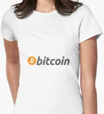 Bitcoin - Crypto Women's Fitted T-Shirt