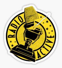 RADIO ACTIVE Sticker