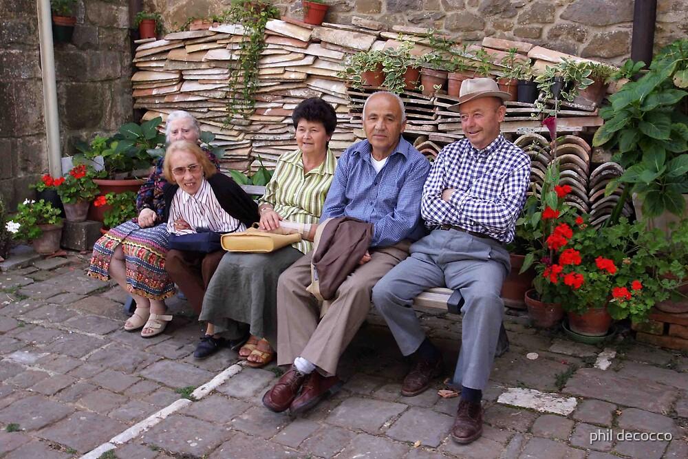 Pomeriggio In Montalcino by phil decocco