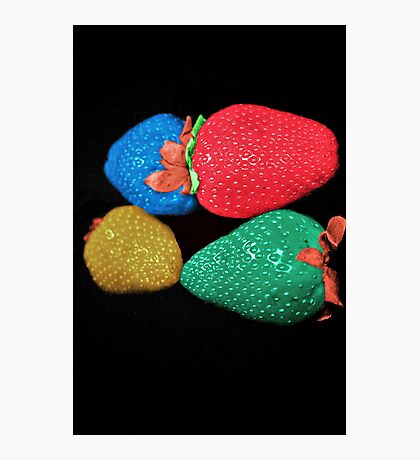 Colors WOW strawberry  Photographic Print
