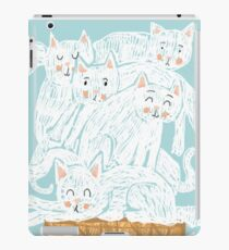 A ice-cats cream iPad Case/Skin
