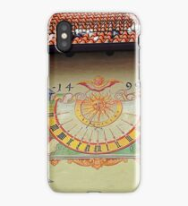 Sundial at the High Castle in Fussen Bavaria iPhone Case/Skin