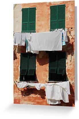 Washing, Vernazza by jojobob