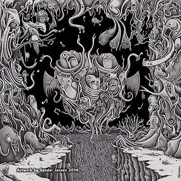 Dwelling in Sound (cd cover artwork) by SanderJansenArt