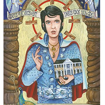 Elvis as Icon by the5thbeatle